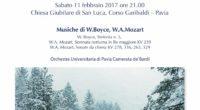 Vi aspettiamo numerosi sabato 11 febbraio alle ore 21 a Pavia! Concerto d'inverno con musiche di Boyce e Mozart, presso la Chiesa Giubilare di San Luca (Corso Garibaldi). L'ingresso è […]