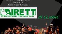 Sabato 6 maggio 2017 alle ore 21.15 presso il Teatro Sociale di Soresina concerto della Camerata de'Bardi con musiche di Telemann, Mozart e Boyce. A sostegno di Airett onlus, evento […]