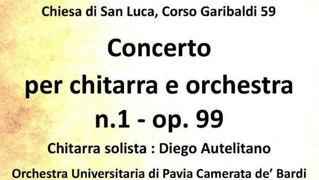 """Sabato 23 giugno 2018, alle ore 21.00, presso la Chiesa Giubilare di San Luca, a Pavia (Corso Garibaldi 59), si terrà il concerto """"Mario Castelnuovo Tedesco. Un fiorentino a Beverly […]"""