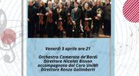 Vi aspettiamo il 5 aprile 2019 a PAVIA, presso la Basilica SS Salvatore in via Riviera 20. L'Orchestra Universitaria Camerata de' Bardi di Pavia si esibirà insieme al Coro dell'Università […]