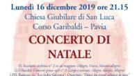 Vi aspettiamo lunedì 16 dicembre 2019 presso la Chiesa Giubilare di San Luca a Pavia (Corso Garibaldi) per il concerto natalizio dell'Orchestra universitaria Camerata de'Bardi di Pavia insieme al Coro […]